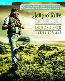 Jethro Tull's Ian Anderson: Thick As A Brick: Live In Iceland (SD Blu-ray) (Release 2020), 1 Blu-ray Disc und 2 CDs