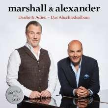 Marshall & Alexander: Danke & Adieu (Das große Abschiedsalbum), 5 CDs
