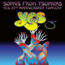 Yes: Songs From Tsongas - 35th Anniversary Concert (180g) (Limited Edition), 4 LPs