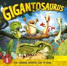 Gigantosaurus (1) Mazus Mutprobe, CD