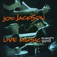 Joe Jackson (geb. 1954): Live Music - Europe 2010 (180g) (Limited Edition) (Orange Vinyl), 2 LPs