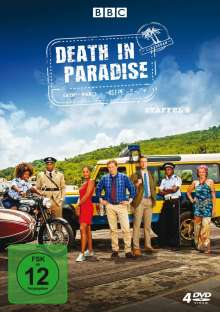 Death in Paradise Staffel 9, 4 DVDs