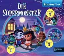 Die Supermonster Starter-Box (1), 3 CDs
