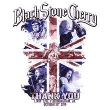 Black Stone Cherry: Thank You: Livin' Live , 1 CD und 1 Blu-ray Disc