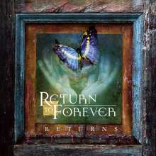 Return To Forever: Returns: Live, 2 CDs und 1 Blu-ray Disc