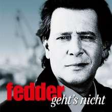 Jan Fedder & Big Balls: Fedder geht's nicht, CD