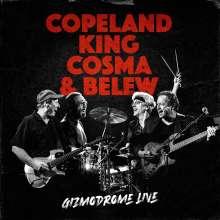 Gizmodrome: Gizmodrome Live (2CD Digipak), 2 CDs
