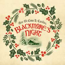 """Blackmore's Night: Here We Come A-Caroling (Limited Edition) (Translucent Green Vinyl), Single 10"""""""