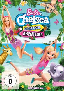Barbie & Chelsea: Dschungel-Abenteuer, DVD