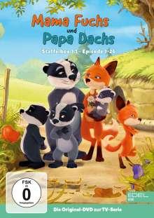 Mama Fuchs und Papa Dachs Staffel 1 Box 1, 2 DVDs