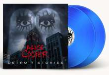 Alice Cooper: Detroit Stories (Limited Edition) (Blue Vinyl) (exklusiv für jpc!), 2 LPs