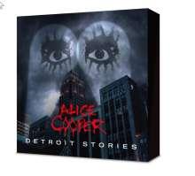 Alice Cooper: Detroit Stories (Limited Box-Set mit T-Shirt Größe XL), 1 CD, 1 Blu-ray Disc, 1 Merchandise und 1 T-Shirt