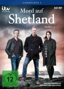 Mord auf Shetland Sammelbox 1 (Staffel 1-3), 10 DVDs