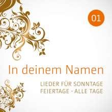 In deinem Namen (1): Lieder für Sonntage, Feiertage, alle Tage, CD
