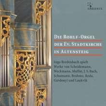 Die Rohlf-Orgel der Ev.Stadtkirche in Altensteig, CD