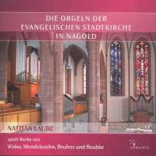 Die Orgeln der Evangelischen Stadtkirche in Nagold, CD