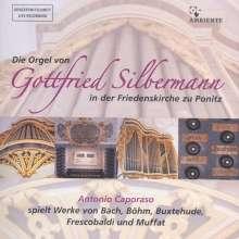 Die Orgel von Gottfried Silbermann in der Friedenskirche zu Ponitz, CD