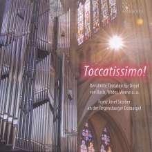 Franz Josef Stoiber - Toccatissimo!, CD
