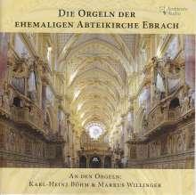 Die Orgeln der ehemaligen Abteikirche Ebrach, CD