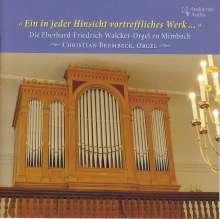 Die Eberhard-Friedrich-Walcker-Orgel zu Mimbach, CD