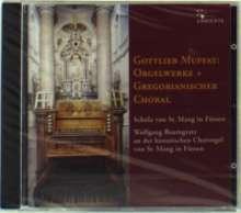 Gottlieb Muffat (1690-1770): Missa in F für Orgel, CD