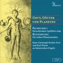 Johann Pachelbel (1653-1706): Hexacordum Apollinis f.Orgel, 2 CDs
