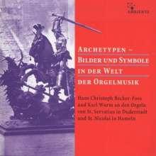 Archetypen - Bilder und Symbole in der Welt der Orgelmusik, 4 CDs