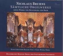 Nicolaus Bruhns (1665-1697): Sämtliche Orgelwerke, CD