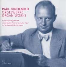 Paul Hindemith (1895-1963): Sämtliche Orgelwerke, CD
