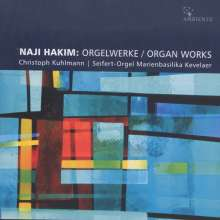 Naji Hakim (geb. 1955): Orgelwerke, CD