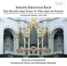 Johann Sebastian Bach (1685-1750): Die Kunst der Fuge BWV 1080 für Orgel, CD
