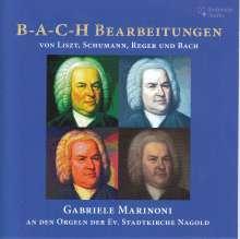 Werke über das Thema BACH aus der Zeit der Romantik, CD