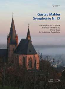 Gustav Mahler (1860-1911): Symphonie Nr.9 (arrangiert für Orgel 4-händig), 2 CDs