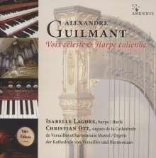 "Felix Alexandre Guilmant (1837-1911): Werke für Harfe & Harmonium ""Voix celeste & Harpe eolienne"", CD"