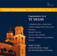 Enjott Schneider (geb. 1950): Geistliche Musik Vol.4, CD