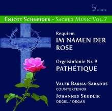 Enjott Schneider (geb. 1950): Geistliche Musik Vol.7, CD