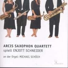 Arcis Saxophon Quartett spielt Enjott Schneider, CD