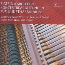 Sigfrid Karg-Elert (1877-1933): Konzertbearbeitungen für  Kunstharmonium, CD