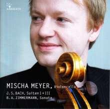 Johann Sebastian Bach (1685-1750): Cellosuiten BWV 1007 & 1009, CD