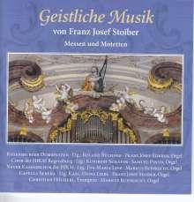 Franz Josef Stoiber (geb. 1959): Geistliche Musik, CD