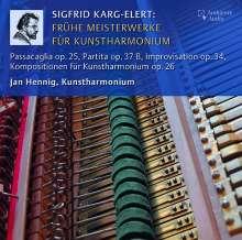 Sigfrid Karg-Elert (1877-1933): Frühe Meisterwerke für Kunstharmonium, CD