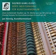 Sigfrid Karg-Elert (1877-1933): Späte Meisterwerke für Kunstharmonium, CD