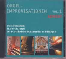 Orgelimprovisationen zum Kirchenjahr, 7 CDs