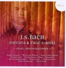 J.S. Bach - Toccata & Fuge d-moll BWV 565 Vol.1, CD