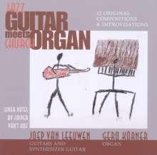 Jazz Guitar meets Church Organ, CD
