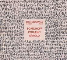 Duo Cernavca - Schulhoff / Poulenc / Arnold, CD