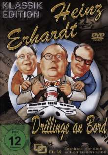 Drillinge an Bord, DVD