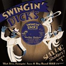 Swingin' Dick's Shellac Shakers 01 - Hot Jive, Jumpin' Jazz & Big Band R&B 78rpms, Single 10""