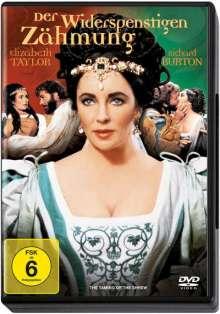 Der Widerspenstigen Zähmung, DVD