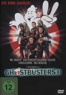 Ghostbusters II, DVD